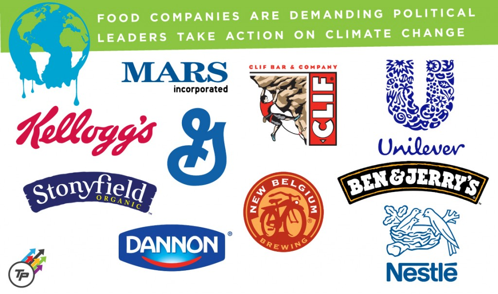 Food Industry Asks Congress to Act on Climate Change