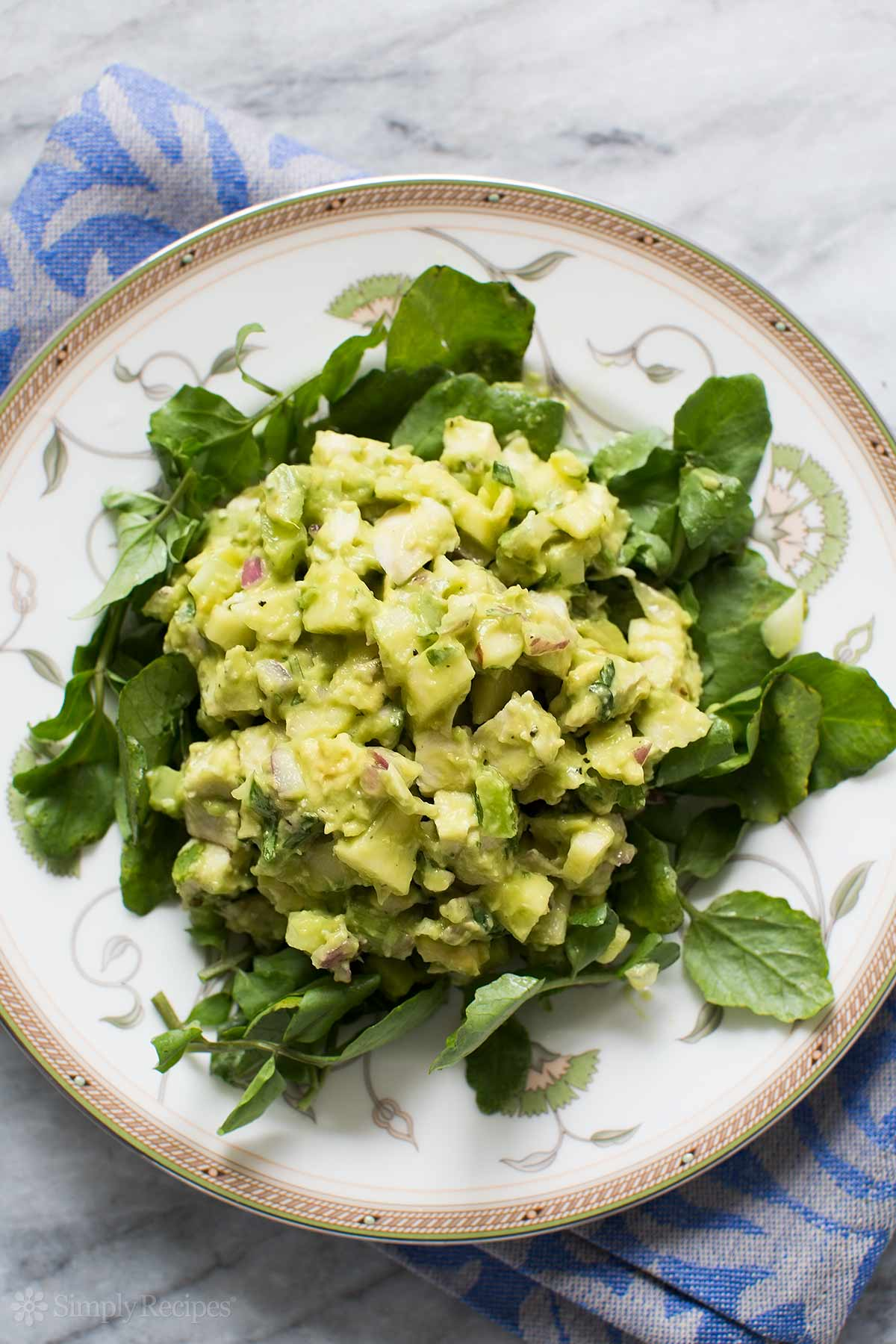 ... amazing avocado chicken salad recipe is a great healthy alternative