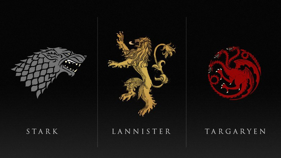 All houses are doomed in new game of thrones teasers - Juego de tronos casas ...