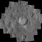Dwarf Planet Ceres Holds Treasures and Suffers Landslides