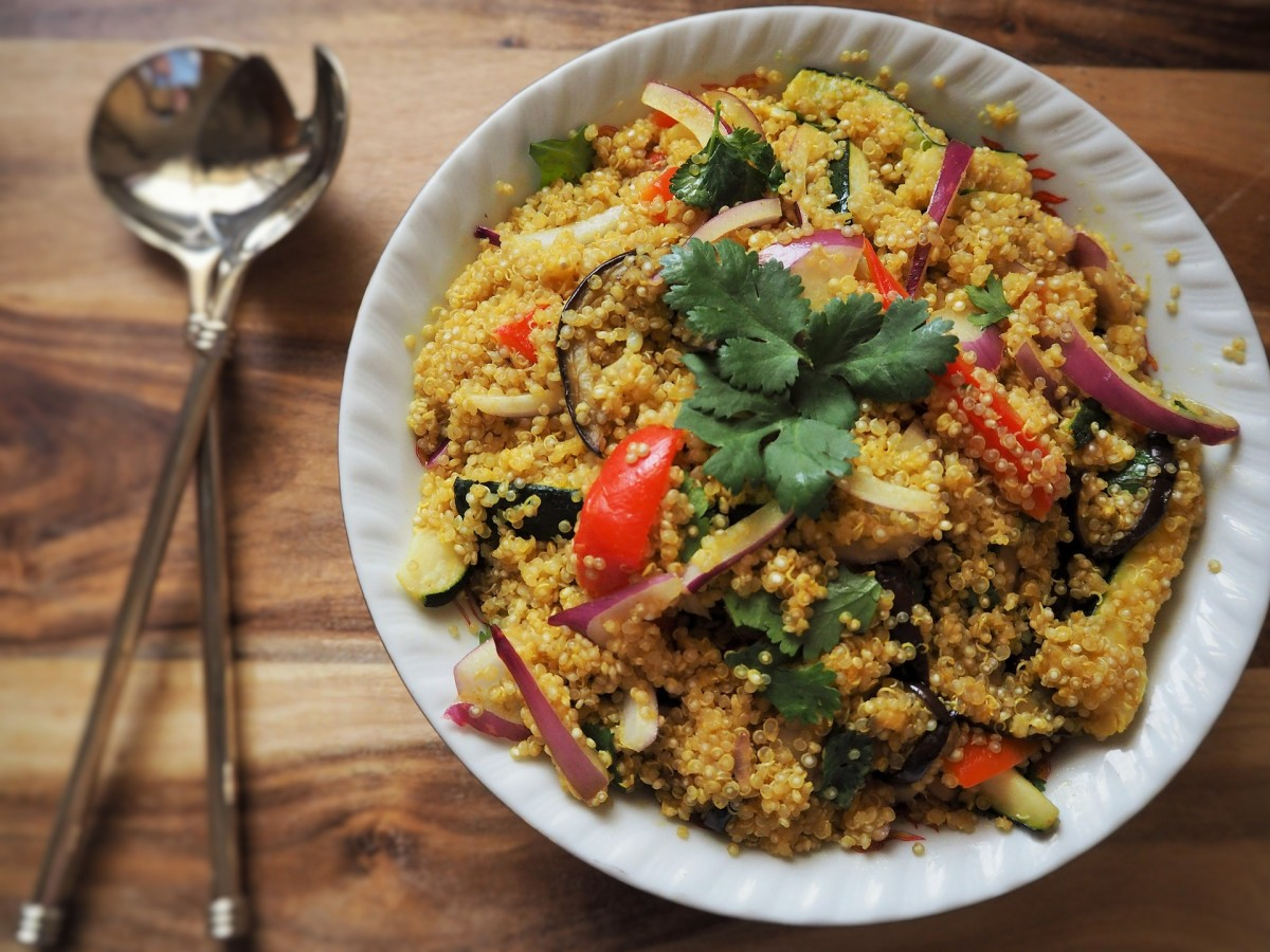 Thai Style Quinoa Salad Recipe - News & Promotions