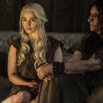 Emilia Clarke Heats Things Up in the Last Episode of Game of Thrones