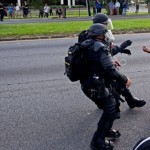 Photo Of A Black Lives Matter Protester Is Being Hailed As Iconic