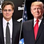 Brad Pitt talks about Donald Trump