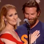 Celine Dion and Bradley Cooper – touching moment at the Stand up to Cancer charity show