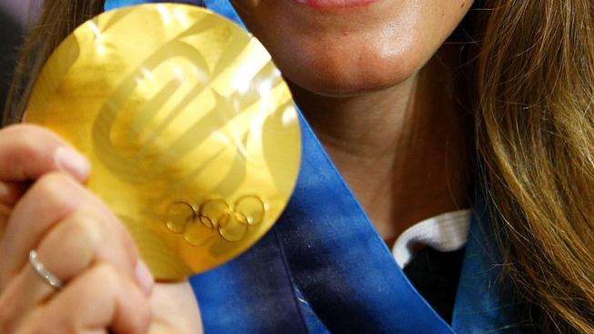 Olympic Medal made out of e-waste