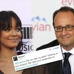 Francois Hollande answers to Rihanna in a letter