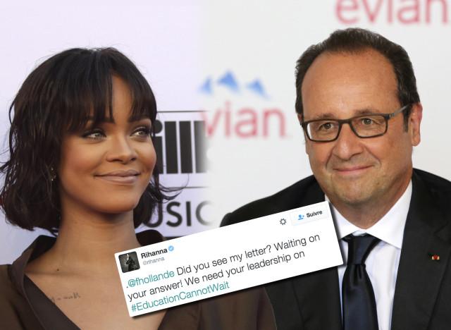 Rihanna & Hollande