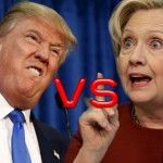 The second live debate between the USA election candidates: Hillary Clinton and Donald Trump