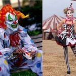 The clown costumes, no more liked by the Americans for the Halloween night