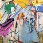 A painting of Willem de Kooning sold for $66,3 million at an auction in New York