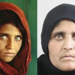 The young Afghan girl from National Geographic cover, expelled from Pakistan