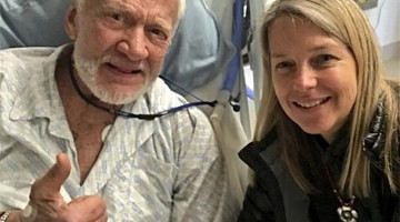 Buzz Aldrin is ok after being evacuated from the South Pole