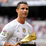 Cristiano Ronaldo, the winner of the seventh edition of the Globe Soccer Awards