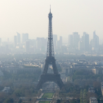 Paris has the highest level of the air pollution in the last ten years
