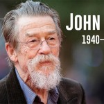 The actor John Hurt and the actress Emmanuelle Riva, die at 77 years, respectively, 89 years