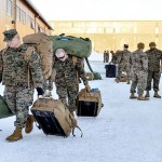 American Marines arrive in Norway and upset Moscow