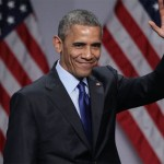Barack Obama thanked his wife, in his good-bye speech