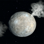 The small planet Ceres is abundant in ice, according to NASA