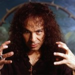 Ronnie James Dio, on the stage of the Pollstar Awards, through his hologram