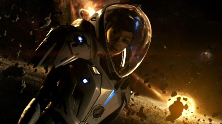 'Star Trek: Discovery': Sonequa Martin-Green battles Klingons in first trailer