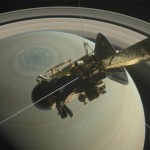 13-year Saturn Mission Ends In Fiery Space Crash